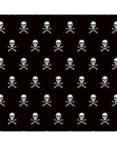 Skull and Crossbones (white) Roomba 960 Skin