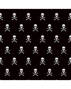 Skull and Crossbones (white) Roomba i7+ with Dock Skin