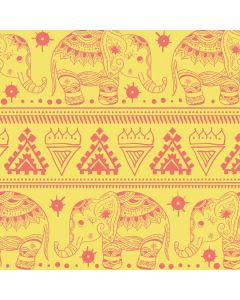 Tribal Elephant Yellow Roomba 880 Skin