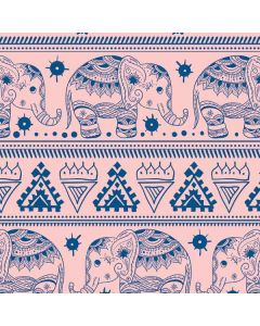 Tribal Elephant Pink Roomba 880 Skin