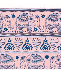 Tribal Elephant Pink Roomba i7+ with Dock Skin