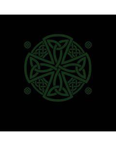 Celtic Cross on Black Roomba 890 Skin