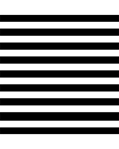 White and Black Stripes Roomba 880 Skin