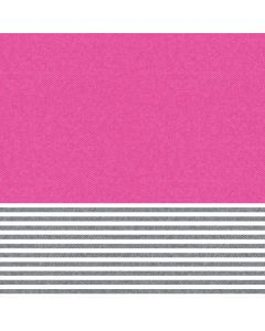 Pink and Grey Stripes Roomba 960 Skin