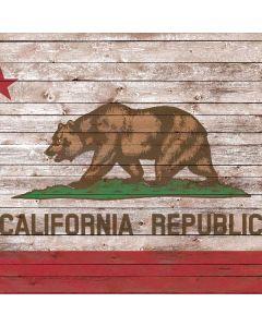 California Flag Dark Wood Roomba 880 Skin