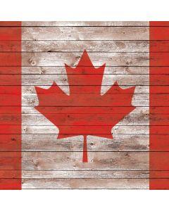 Canadian Flag Dark Wood Roomba 880 Skin