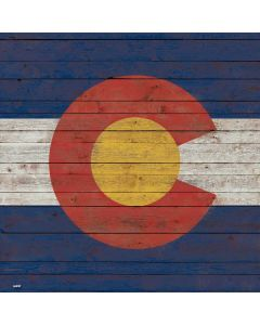 Colorado Flag Dark Wood Roomba e5 Skin