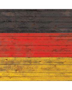German Flag Dark Wood Roomba e5 Skin