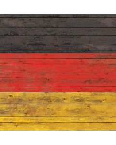 German Flag Dark Wood Roomba 880 Skin