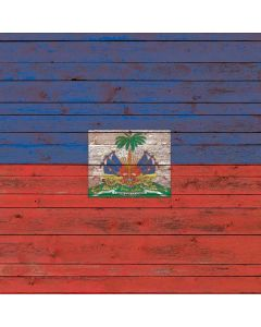 Haiti Flag Dark Wood Roomba e5 Skin