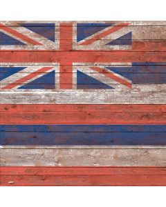 Hawaiian Flag Dark Wood Roomba s9+ no Dock Skin