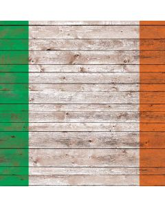 Ireland Flag Dark Wood Roomba e5 Skin