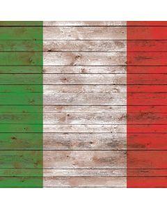 Italian Flag Dark Wood Roomba 880 Skin