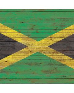 Jamaican Flag Dark Wood Roomba i7+ with Dock Skin