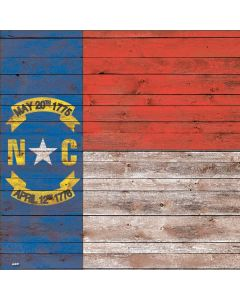 North Carolina Flag Dark Wood Roomba e5 Skin