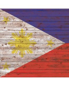Philippines Flag Dark Wood Roomba 880 Skin