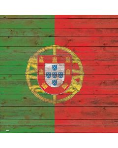 Portuguese Flag Dark Wood Roomba s9+ with Dock Skin