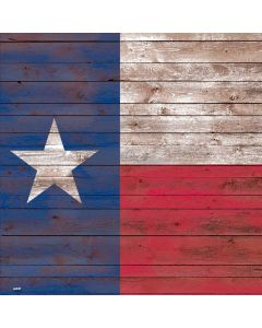 Texas Flag Dark Wood Roomba s9+ no Dock Skin