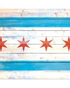 Chicago Flag Light Wood Roomba 980 Skin