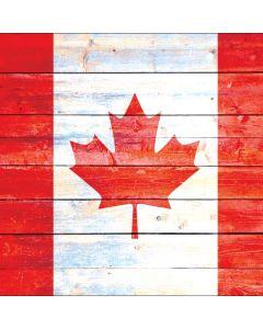 Canada Flag Light Wood Roomba e5 Skin