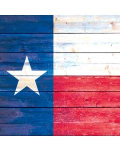 Texas Flag Light Wood Roomba 880 Skin