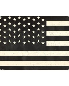 Black & White USA Flag Roomba i7+ with Dock Skin