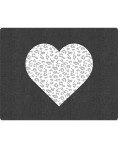 Grey Leopard Heart Roomba e5 Skin