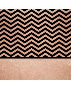 Rose Gold Chevron Split Roomba 960 Skin
