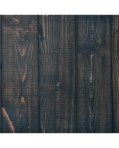 Black Painted Wood Roomba 860 Skin