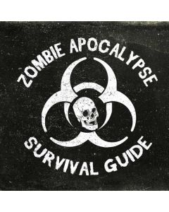 Zombie Apocalypse Survival Guide Roomba 880 Skin